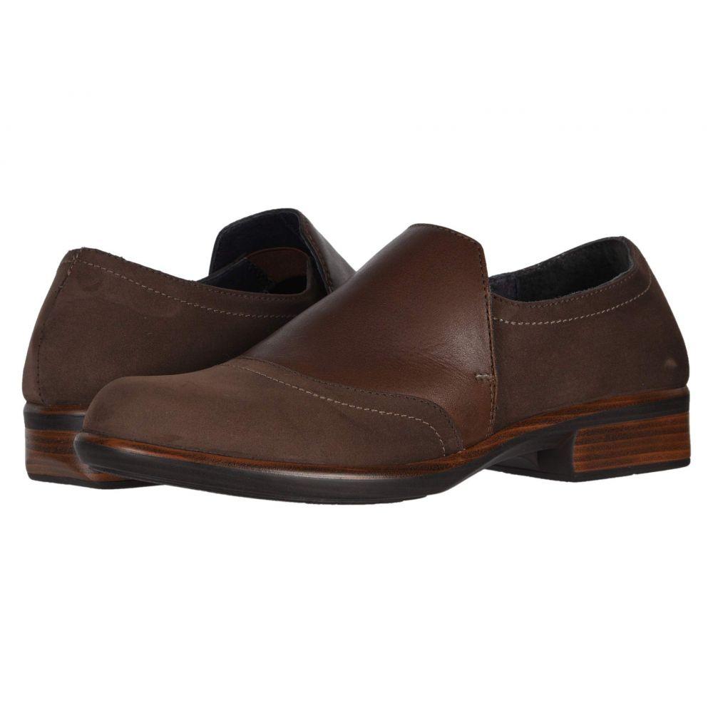 ナオト Naot レディース ローファー・オックスフォード シューズ・靴【Angin】Coffee Nubuck/Toffee Leather