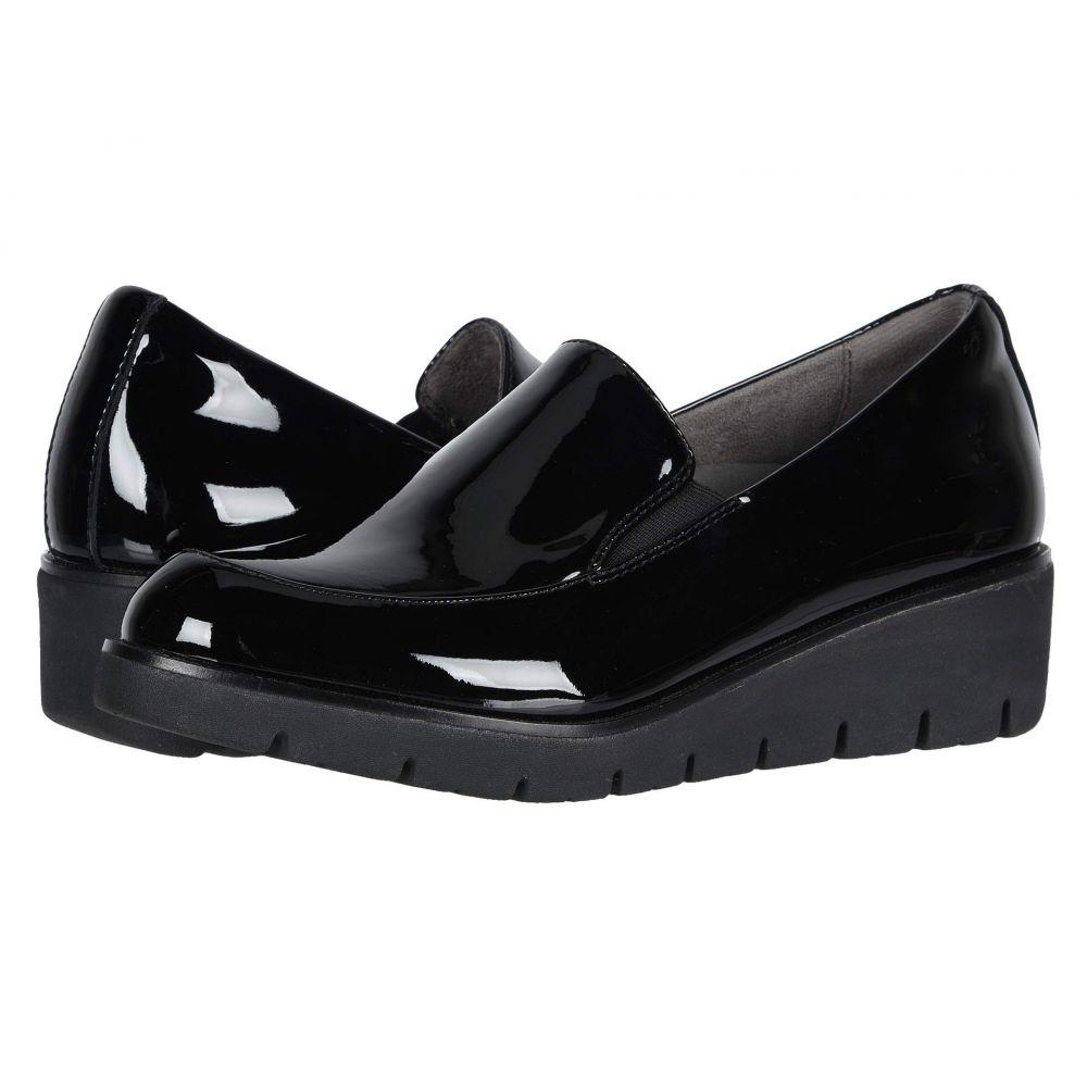 カルソーアースシューズ Earth レディース ローファー・オックスフォード シューズ・靴【Zurich Bern】Black Patent Leather