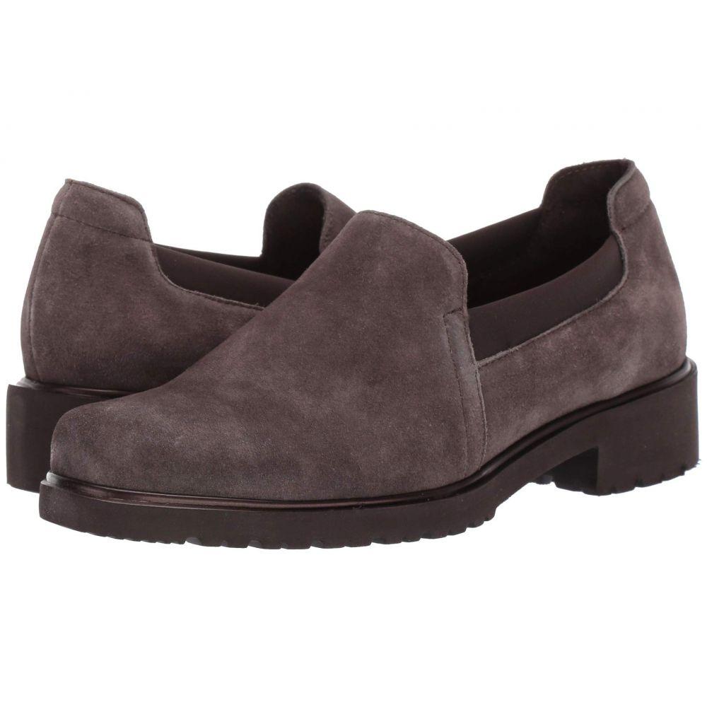マンロー Munro レディース ローファー・オックスフォード シューズ・靴【Becca】Brown Suede