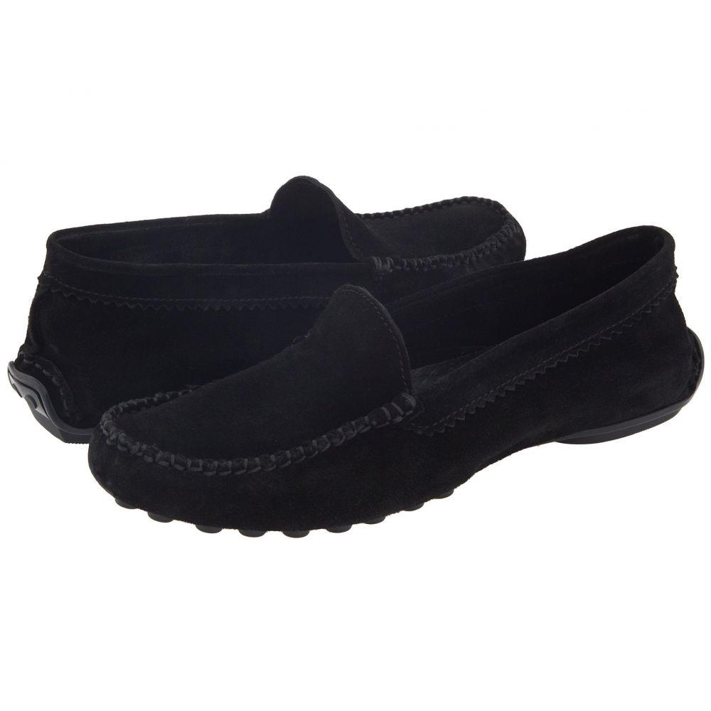 フレンチソール French Sole レディース ローファー・オックスフォード シューズ・靴【Stella】Black Suede