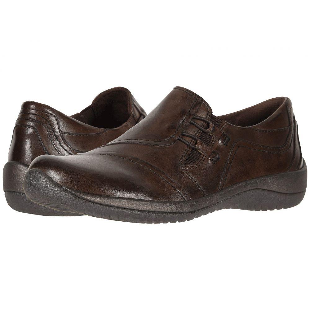 カルソーアースシューズ Earth レディース ローファー・オックスフォード シューズ・靴【Hawk】Bark Soft Calf