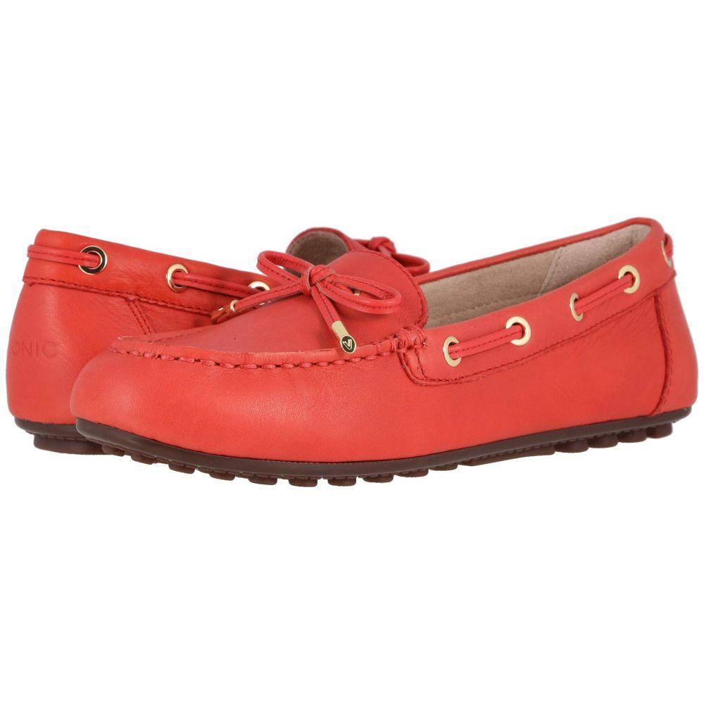 バイオニック VIONIC レディース ローファー・オックスフォード シューズ・靴【Virginia Leather】Cherry