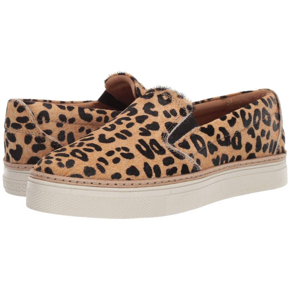 ルケーシー Lucchese レディース スリッポン・フラット シューズ・靴【After-Ride Slip-On】Leopard Hair-On
