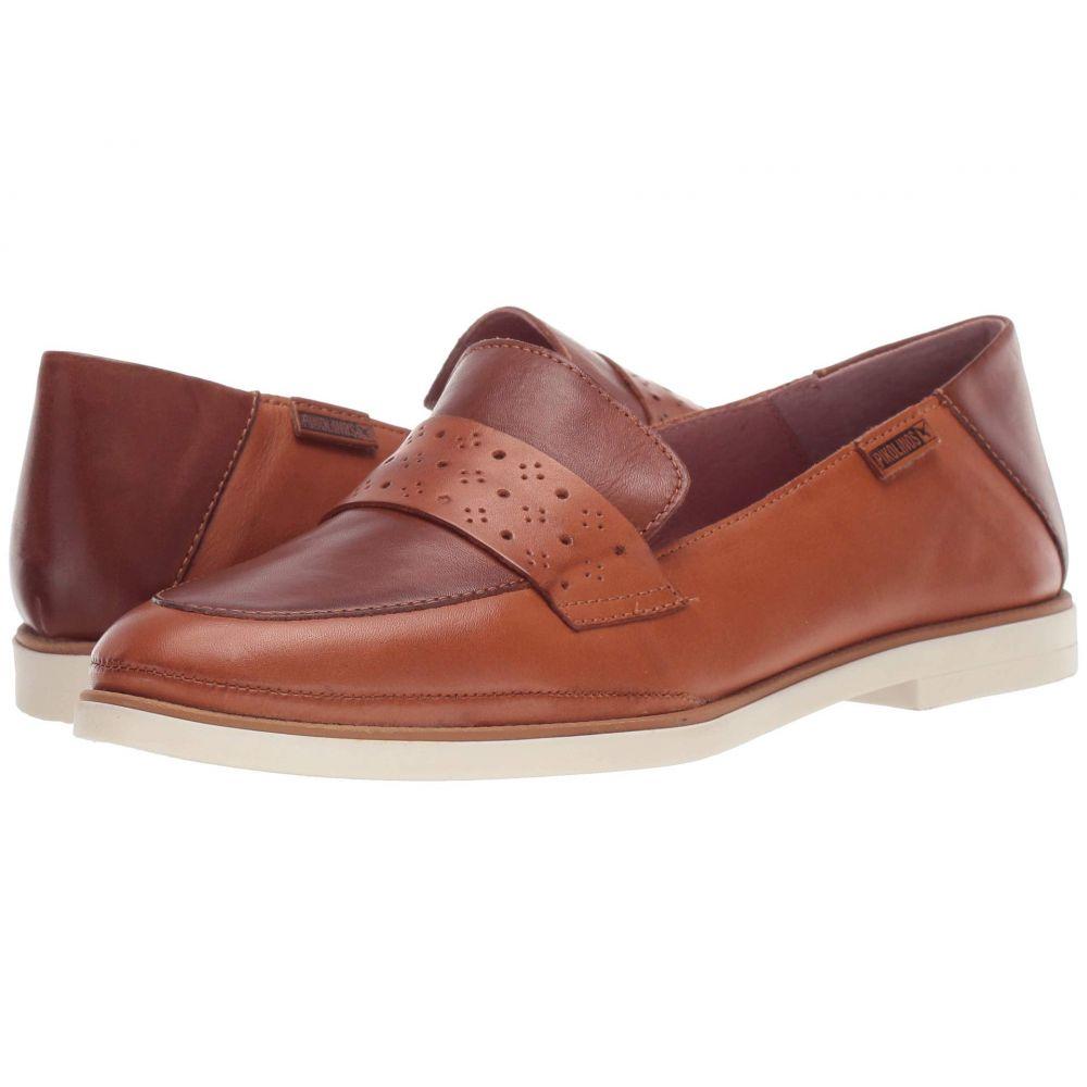 ピコリノス Pikolinos レディース ローファー・オックスフォード シューズ・靴【Santorini W3V-3708C1】Brandy