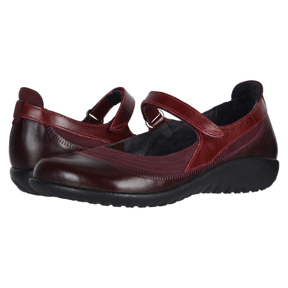 ナオト Naot レディース スリッポン・フラット シューズ・靴【Kirei】Violet Nubuck/Bordeaux Leather/Rumba Leather