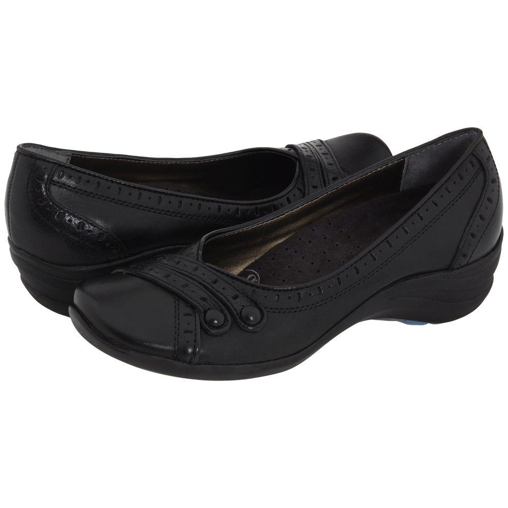 ハッシュパピー Hush Puppies レディース スリッポン・フラット シューズ・靴【Burlesque】Black Leather