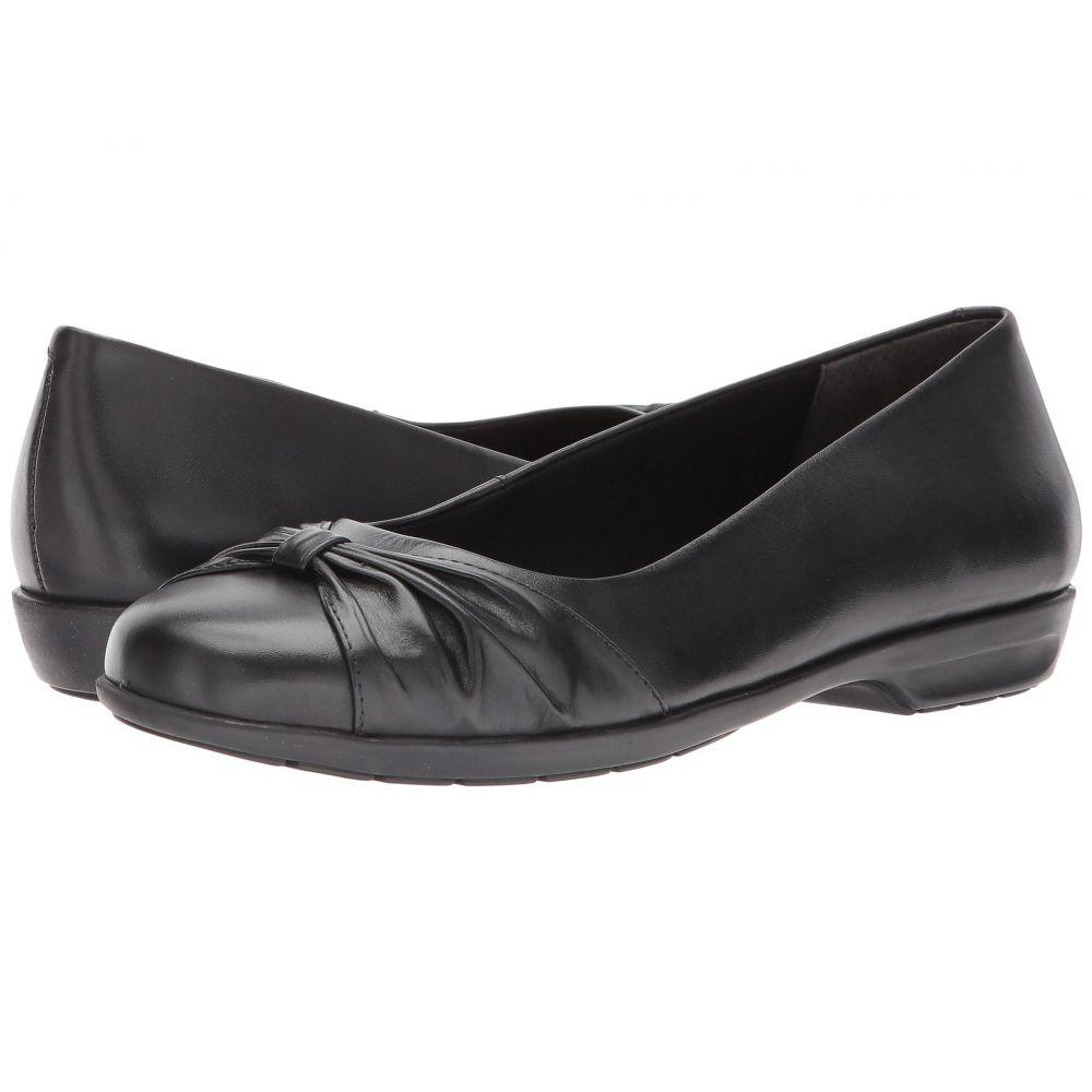 ウォーキング クレードル Walking Cradles レディース スリッポン・フラット シューズ・靴【Fall】Black Leather