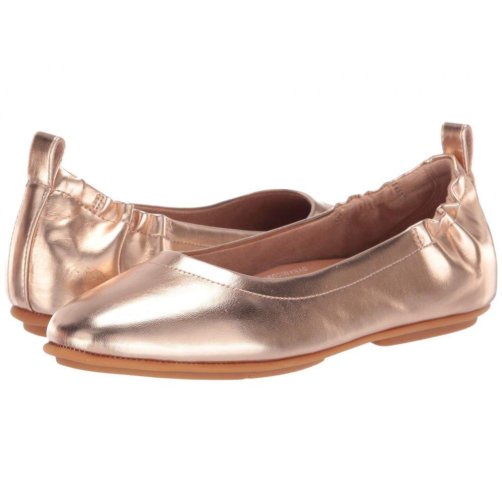 フィットフロップ FitFlop レディース スリッポン・フラット シューズ・靴【Allegro】Rose Gold Metallic