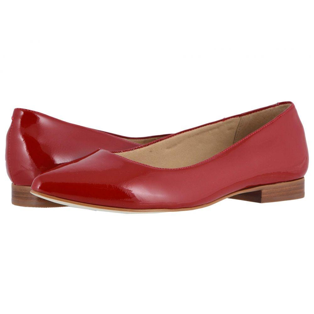 ウォーキング クレードル Walking Cradles レディース スリッポン・フラット シューズ・靴【Reece】Red Patent