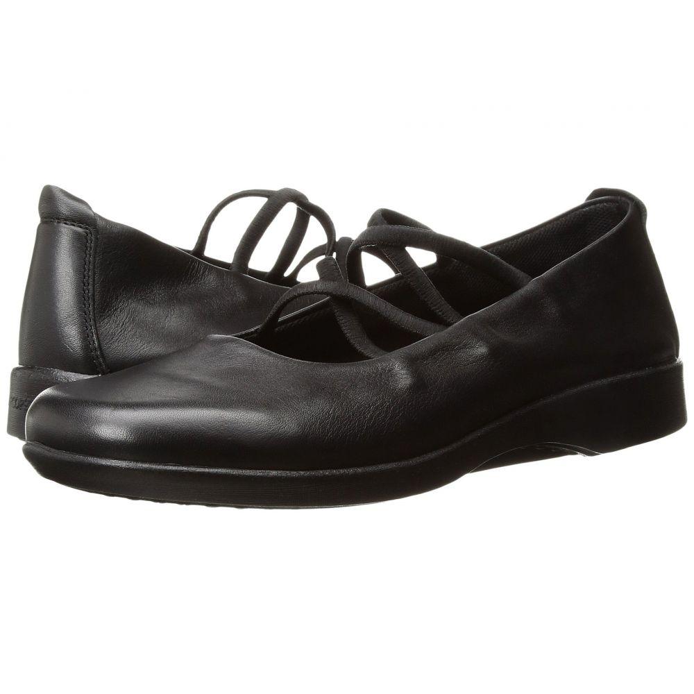 アルコペディコ Arcopedico レディース スリッポン・フラット シューズ・靴【Vegas】Black