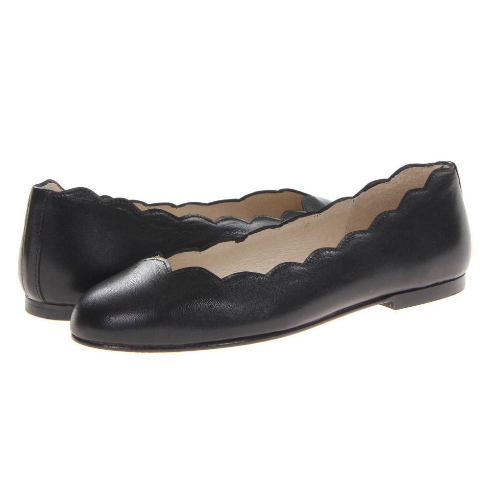 フレンチソール French Sole レディース スリッポン・フラット シューズ・靴【Jigsaw】Black Nappa Leather