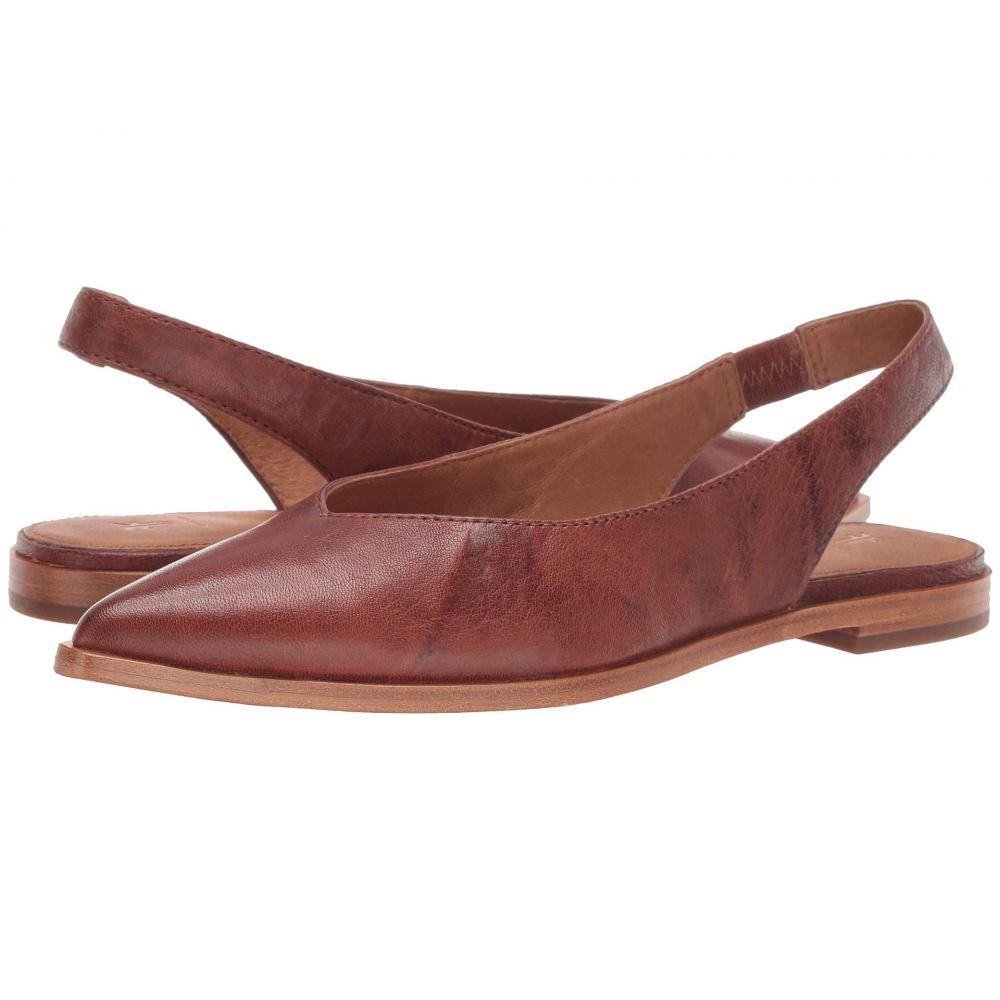 フライ Frye レディース スリッポン・フラット シューズ・靴【Kenzie Slingback】Cognac Antique Soft Vintage