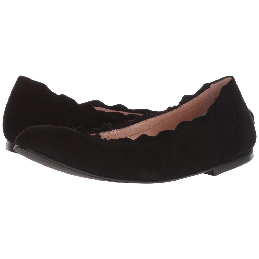 フレンチソール French Sole レディース スリッポン・フラット シューズ・靴【Cuff Flat】Black Suede