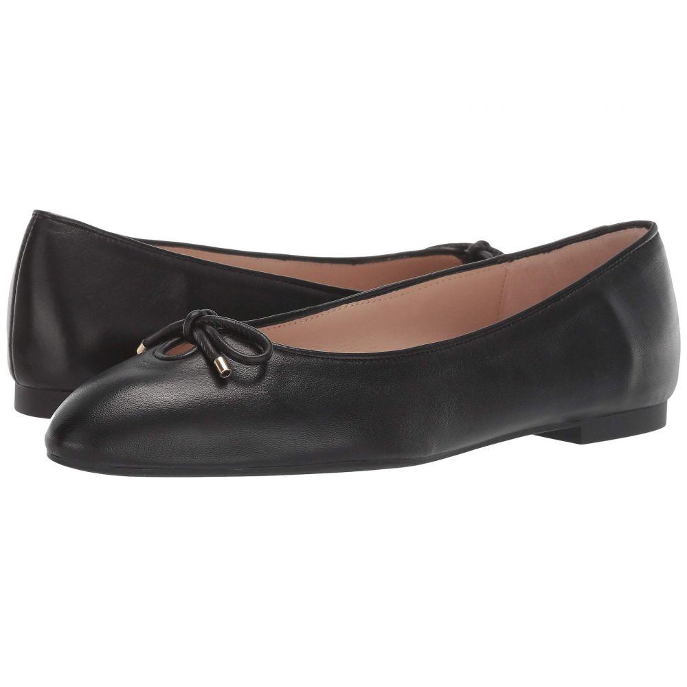 スチュアート ワイツマン Stuart Weitzman レディース スリッポン・フラット シューズ・靴【Gabby Bow Flat】Black Dress Nappa