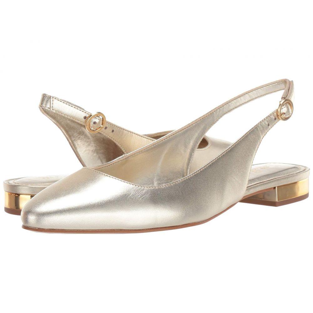 リリーピュリッツァー Lilly Pulitzer レディース スリッポン・フラット シューズ・靴【Ella Slingback Flat】Gold Metallic