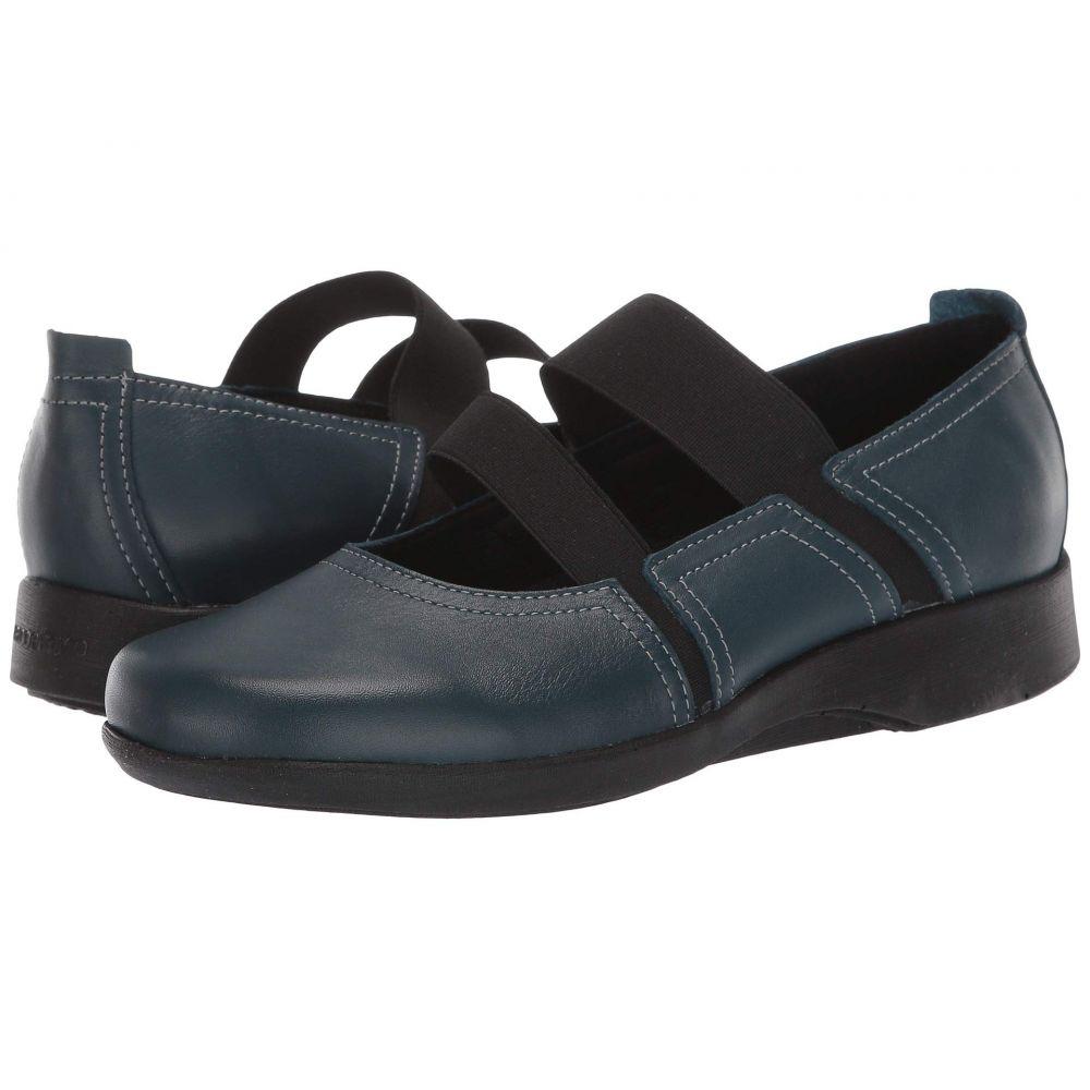 アルコペディコ Arcopedico レディース スリッポン・フラット シューズ・靴【Betsy】Patrol Blue
