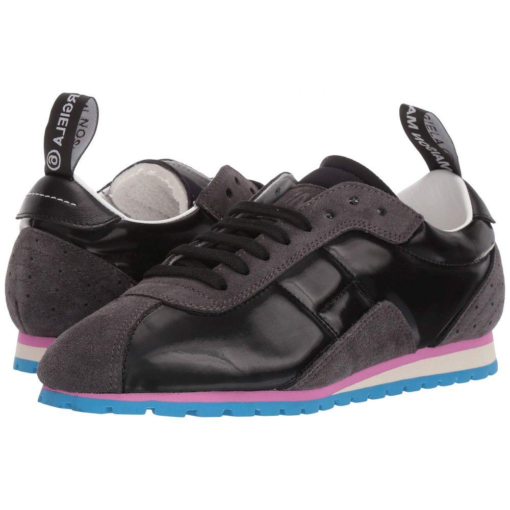 メゾン マルジェラ MM6 Maison Margiela レディース スニーカー シューズ・靴【Updated Gat Trainer】Black/Ebony
