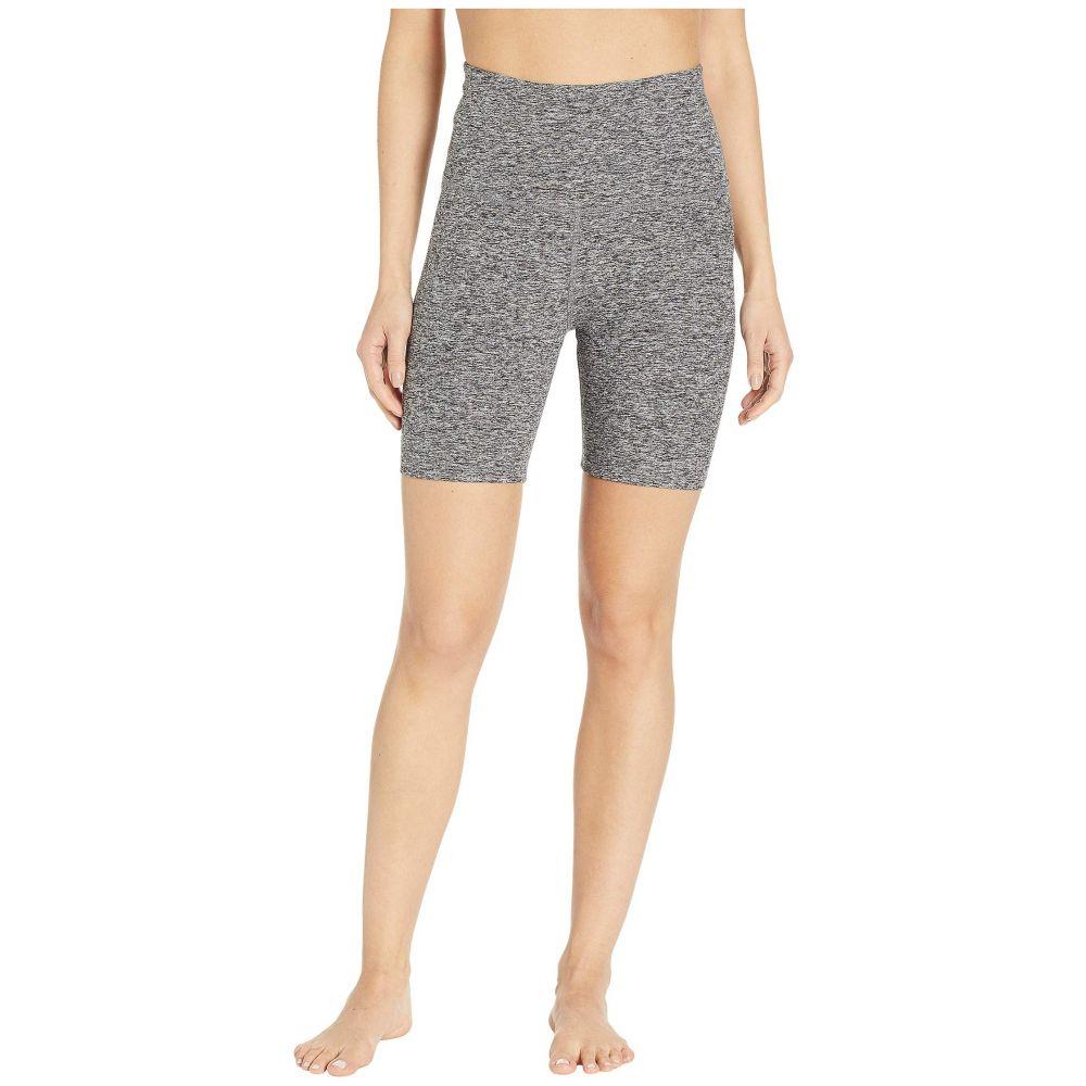 ビヨンドヨガ Beyond Yoga レディース ショートパンツ ボトムス・パンツ【Spacedye High-Waisted Biker Shorts】Black/White