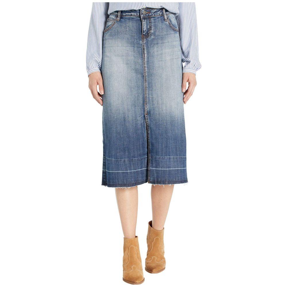 ステットソン Stetson レディース スカート デニム【Stretch Denim Skirt】Blue
