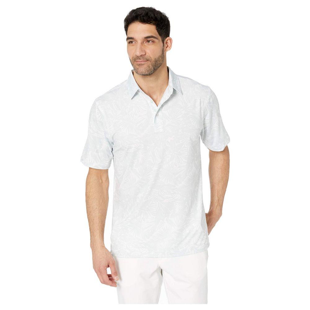 ストレートダウン Straight Down メンズ ポロシャツ トップス【Mauna Kea Polo】White/Silver