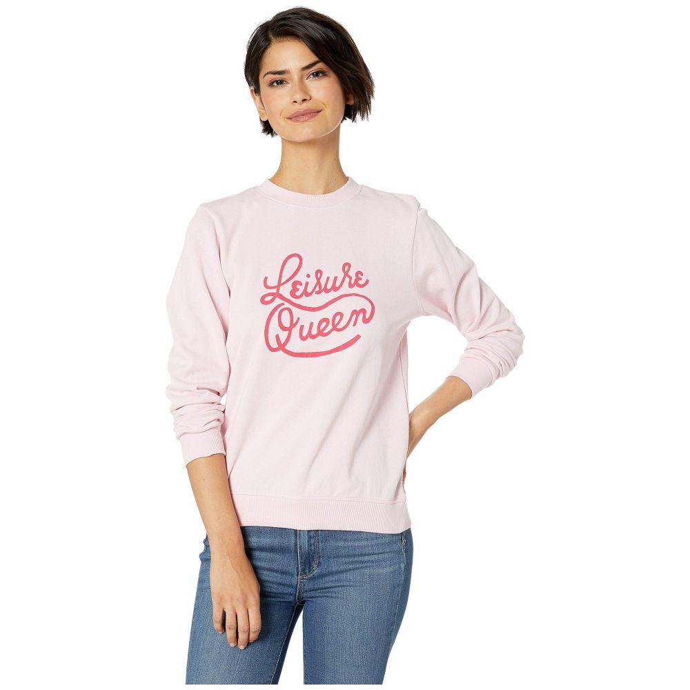 バン ドー ban.do レディース スウェット・トレーナー トップス【Leisure Queen Long Sleeve Sweatshirt】Pink
