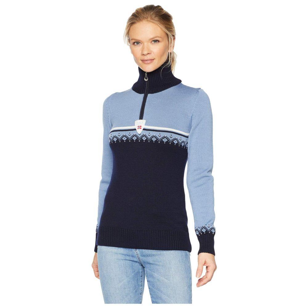ダーレ オブ ノルウェイ Dale of Norway レディース ニット・セーター トップス【Lahti Sweater】D-Navy/Blue Shadow/Off-White