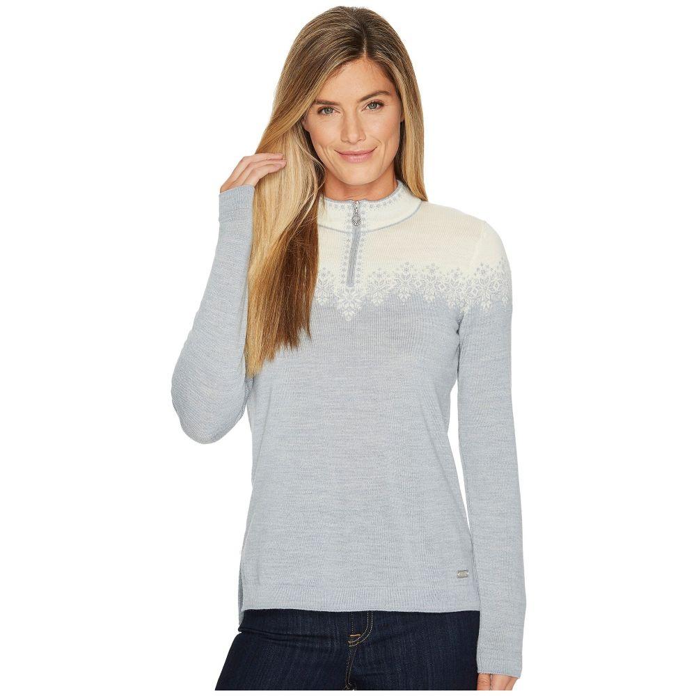 ダーレ オブ ノルウェイ Dale of Norway レディース ニット・セーター トップス【Snefrid Sweater】T-Grey/Off-White
