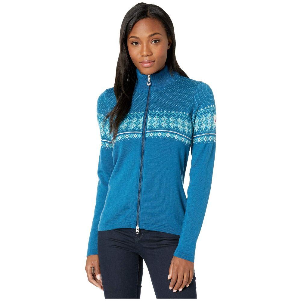 ダーレ Melange Blue/Off-White/Turquoise/See レディース Norway Jacket】Arctic Dale オブ ノルウェイ ニット・セーター トップス【Hovden of