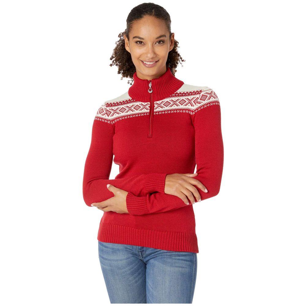 ダーレ オブ ノルウェイ Dale of Norway レディース ニット・セーター トップス【Cortina Merino Feminine Sweater】Raspberry/White