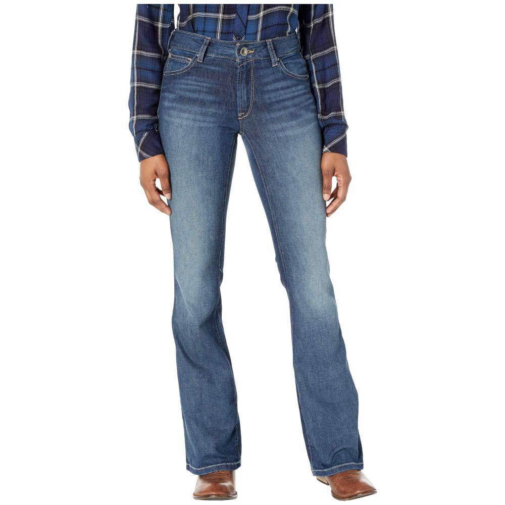 アリアト Ariat レディース ジーンズ・デニム ブーツカット ボトムス・パンツ【Ultra Stretch Bootcut Jeans】Evening