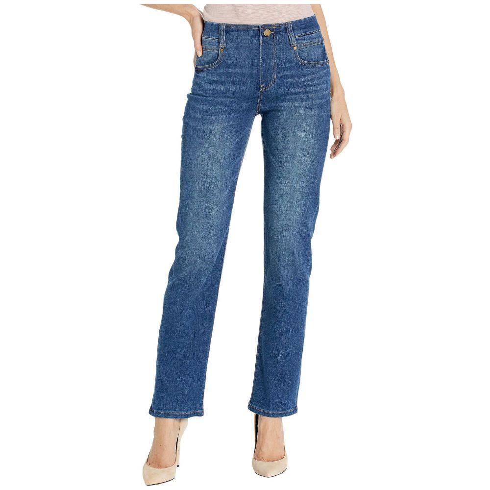 リバプール Liverpool レディース ジーンズ・デニム ボトムス・パンツ【Gia Glider/Revolutionary Pull-On Straight Jeans in Cartersville】Cartersville
