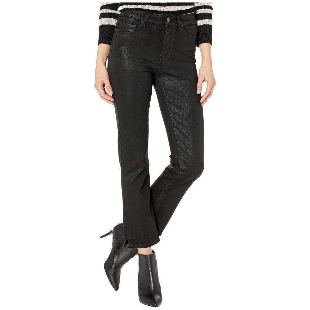 ペイジ Paige レディース ジーンズ・デニム ボトムス・パンツ【Cindy Jeans w/ Outseam Slit in Black Fog Luxe Coating】Black Fog Luxe Coating