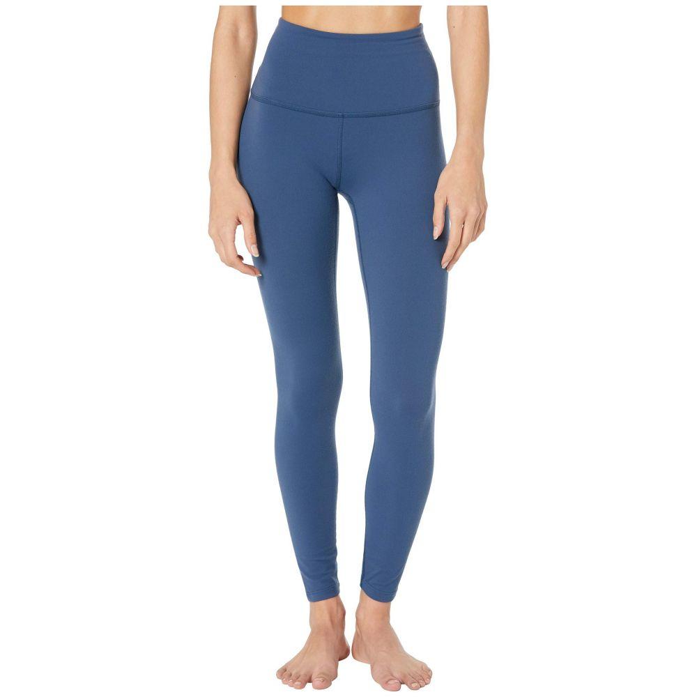 ビヨンドヨガ Beyond Yoga レディース スパッツ・レギンス インナー・下着【High Waist Midi Leggings】Blue Horizon