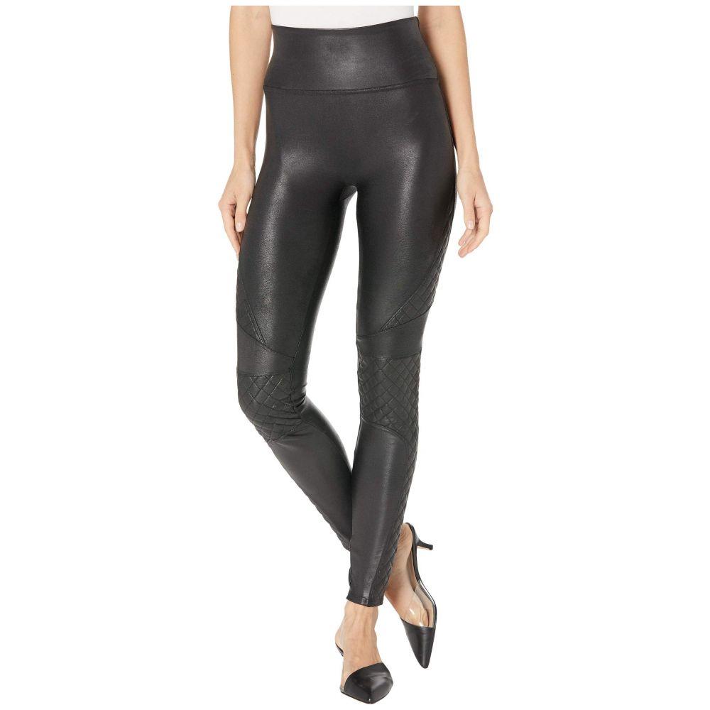 スパンクス Spanx レディース ボトムス・パンツ レザーレギンス【Faux Leather Quilted Leggings】Very Black