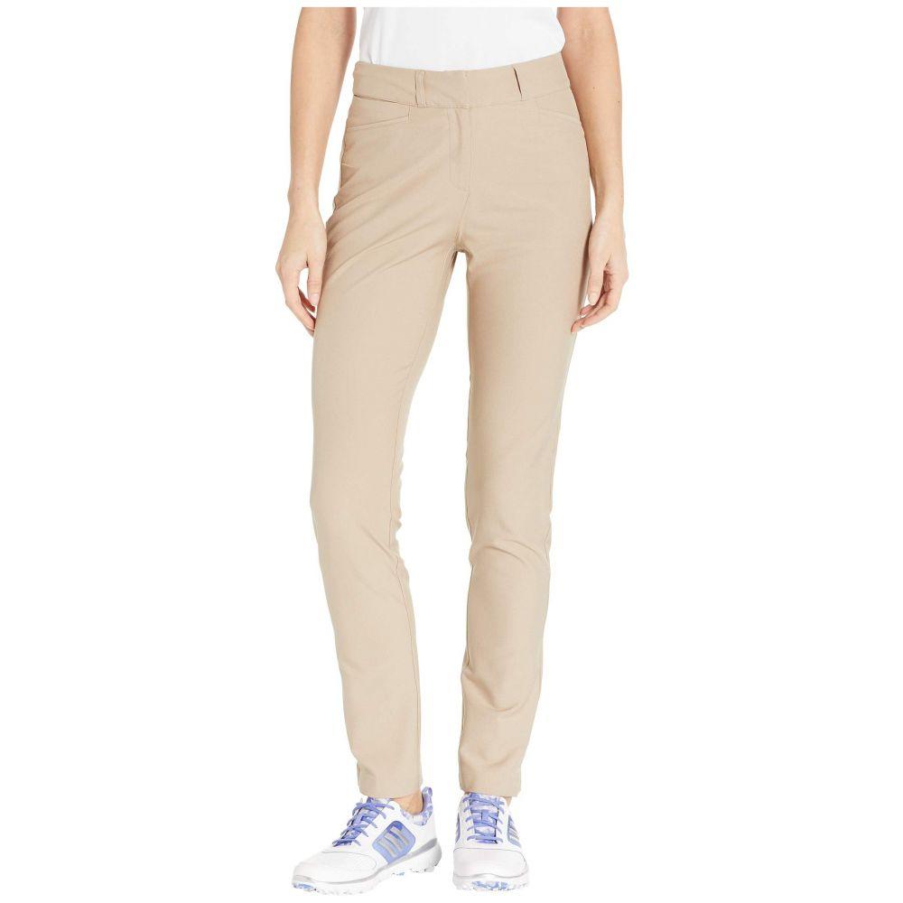 アディダス adidas Golf レディース ボトムス・パンツ 【Club Full-Length Pants】Trace Khaki