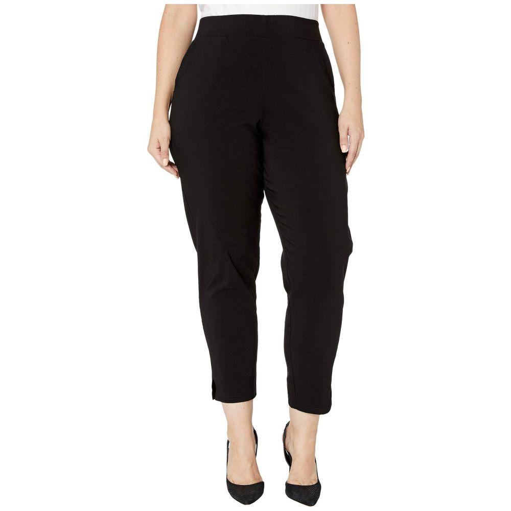 フエ HUE レディース スパッツ・レギンス 大きいサイズ インナー・下着【Plus Size Temp Tech Trouser Leggings】Black