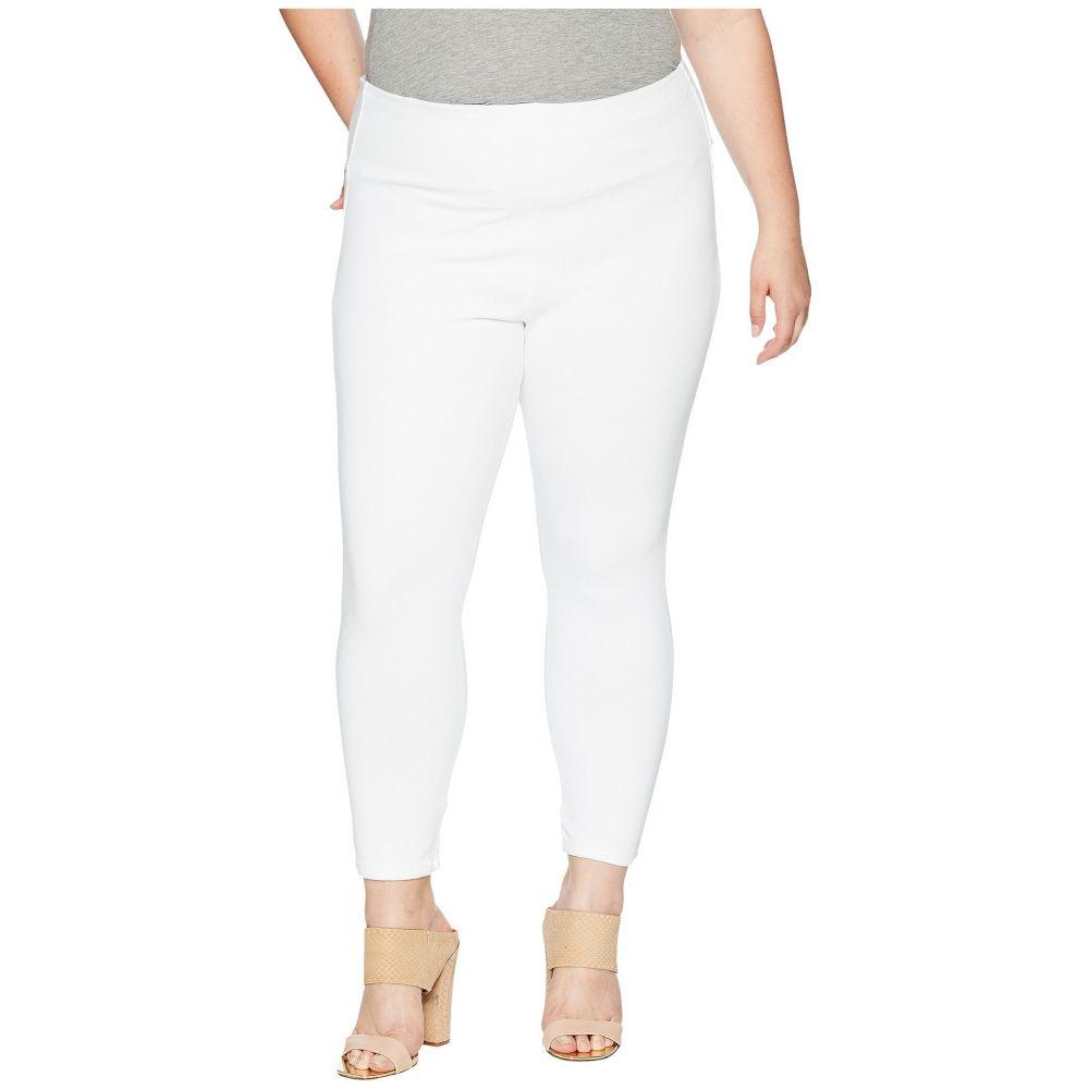 リセ Lysse レディース クロップド 大きいサイズ ボトムス・パンツ【Plus Size Toothpick Crop】White