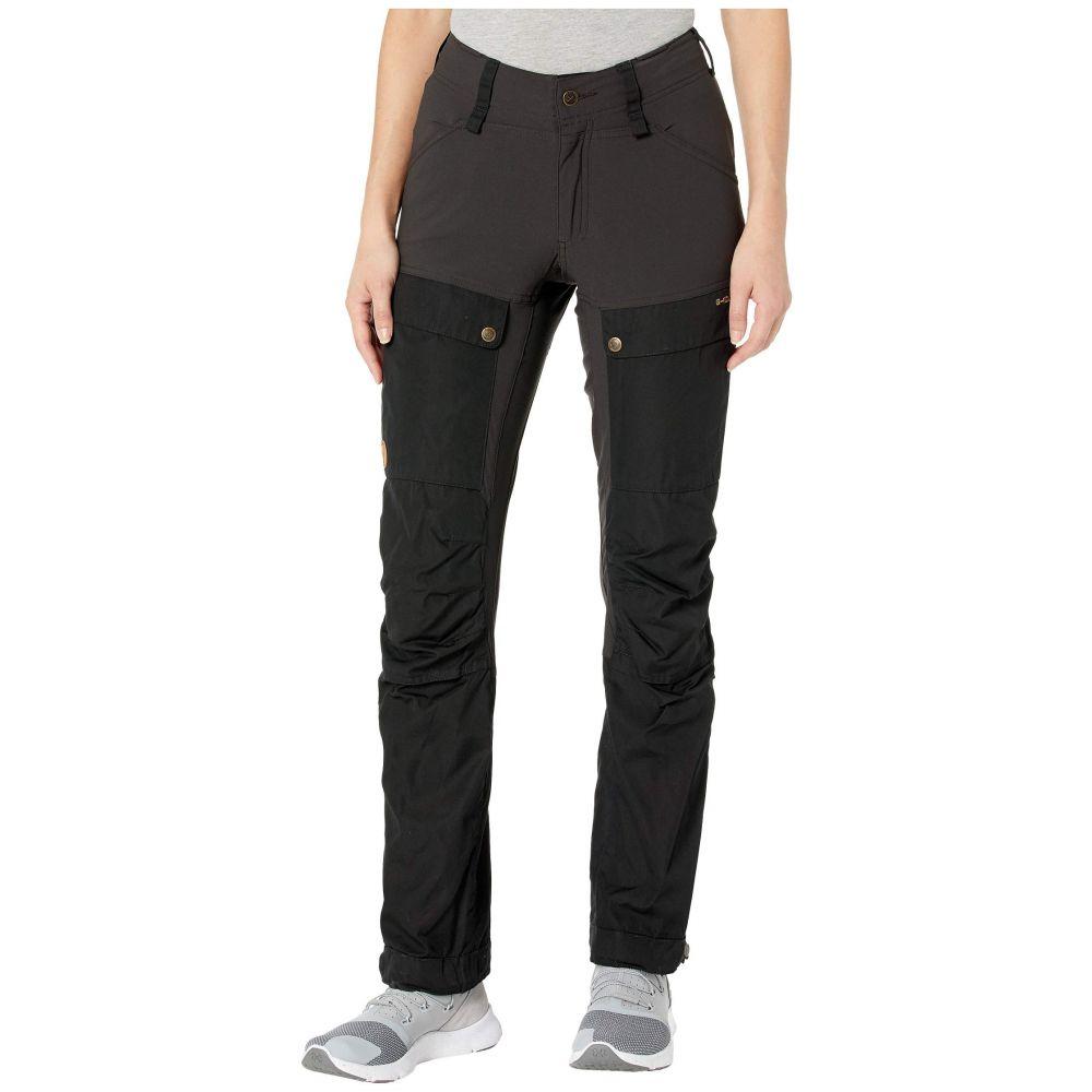 フェールラーベン Fjallraven レディース ボトムス・パンツ 【Keb Trousers Curved】Black
