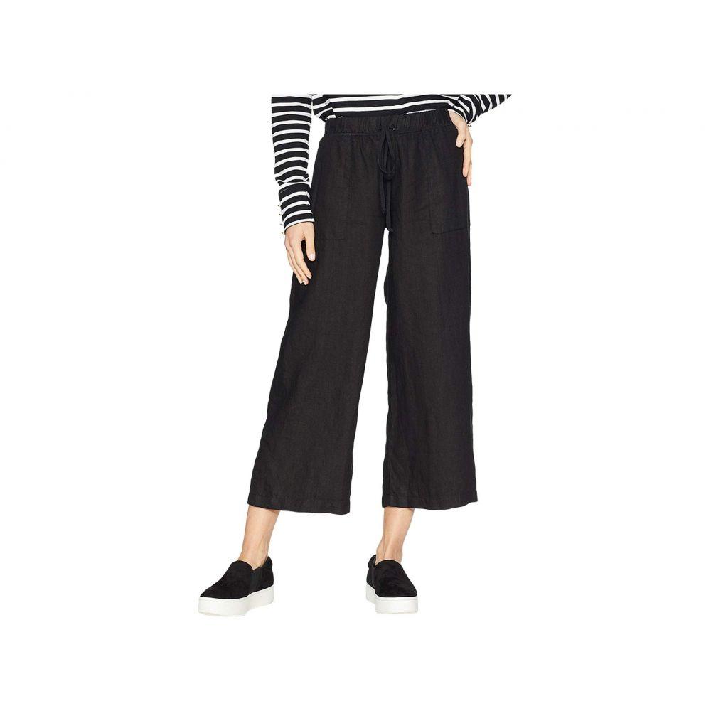 ハードテイル Hard Tail レディース クロップド ボトムス・パンツ【High-Rise Pull-on Crop Pants】Black