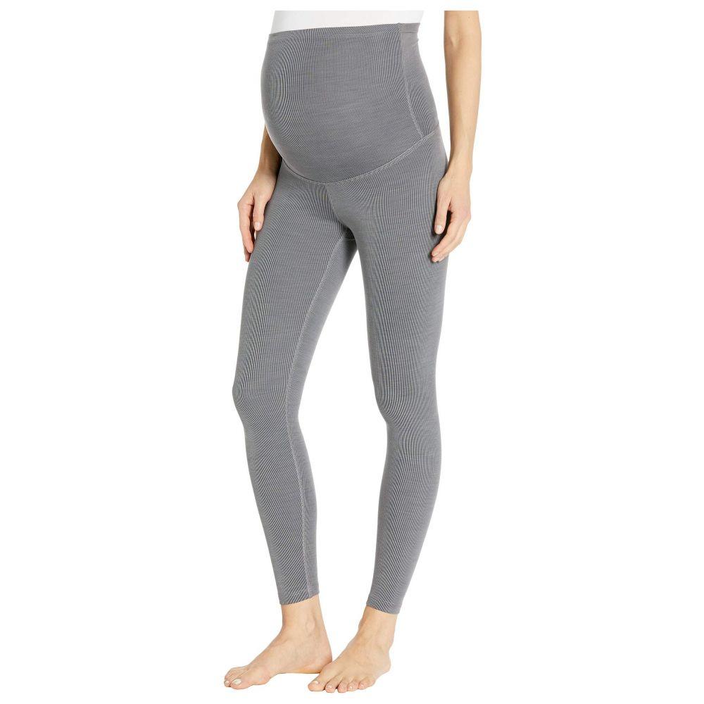 ビヨンドヨガ Beyond Yoga レディース スパッツ・レギンス マタニティウェア インナー・下着【Maternity Heather Rib Midi Leggings】Gray Heather