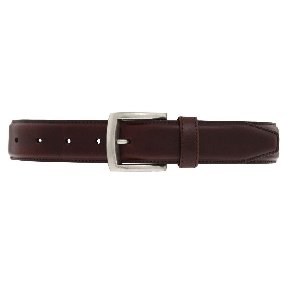 ジョンストン&マーフィー Johnston & Murphy メンズ ベルト 【Wax Veal Belt】Brown