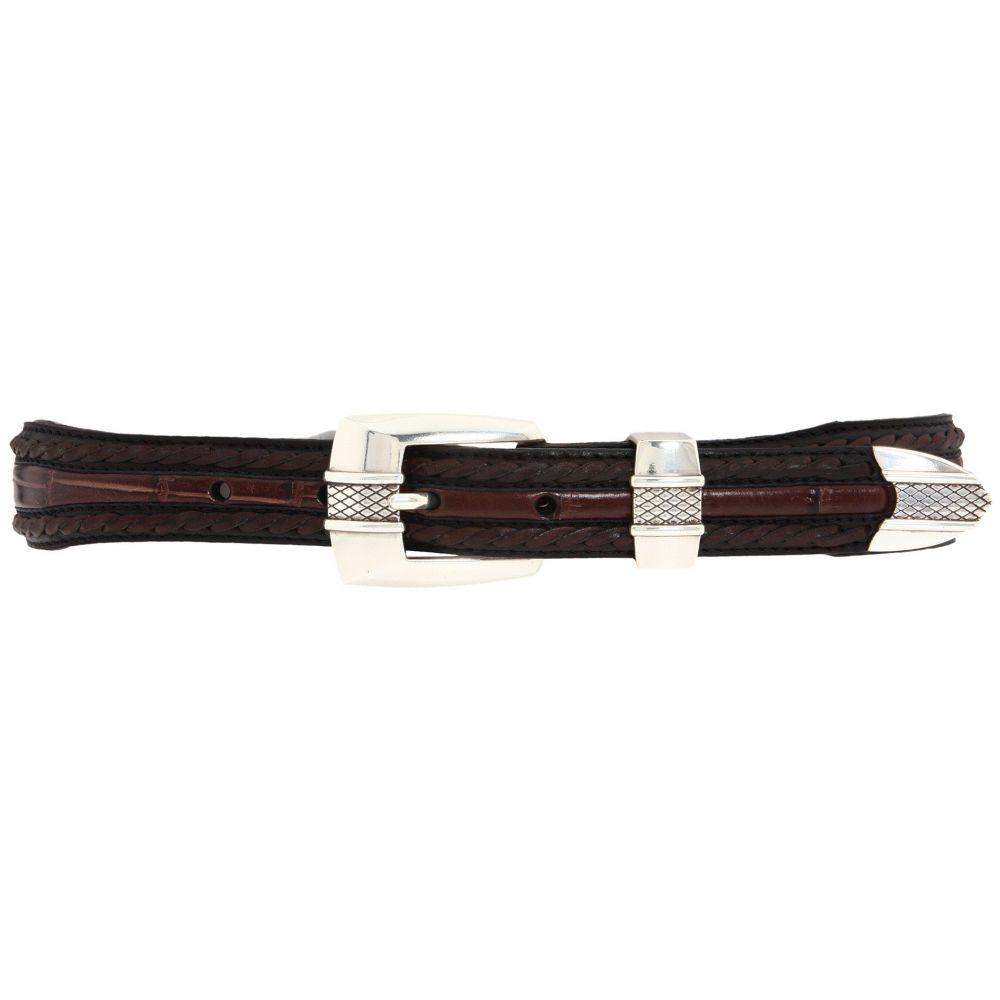 ブライトン Brighton メンズ ベルト 【Porto Fino Taper Belt】Black/Chocolate