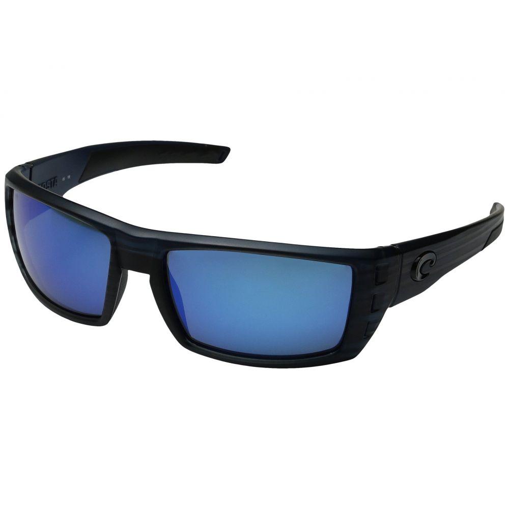 コスタ Costa メンズ メガネ・サングラス 【Rafael】Black Teak Frame/Blue Mirror Glass W