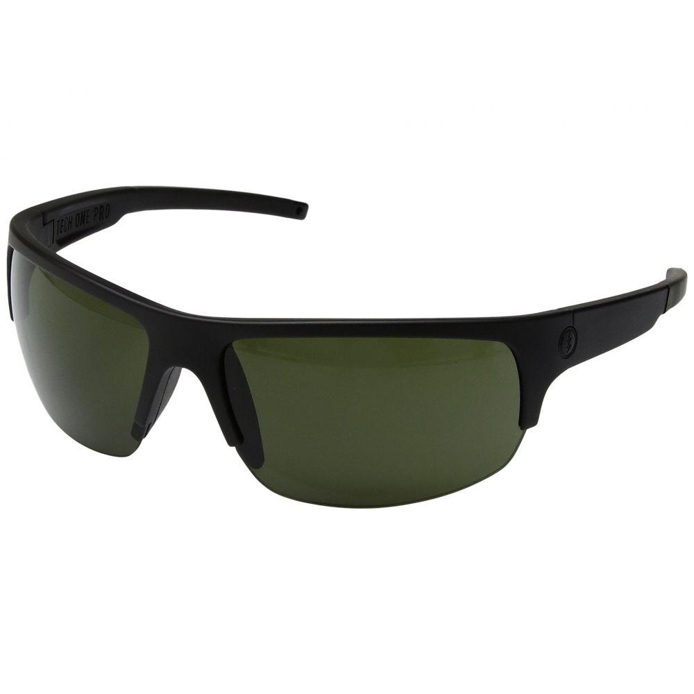 エレクトリック Electric Eyewear メンズ メガネ・サングラス 【Tech One Pro】Matte Black/OHM Grey