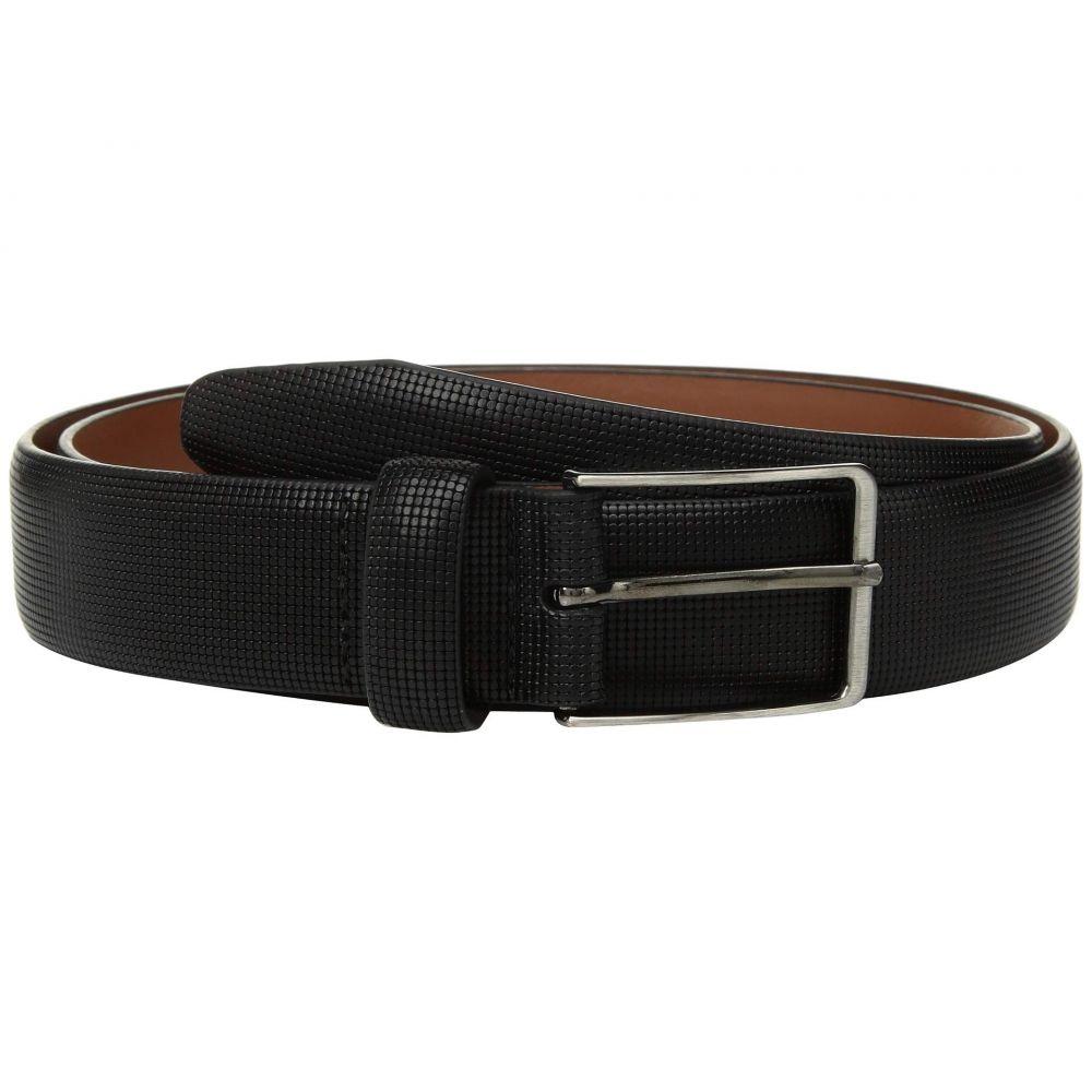 ジョンストン&マーフィー Johnston & Murphy メンズ ベルト 【Mini Embossed Belt】Black