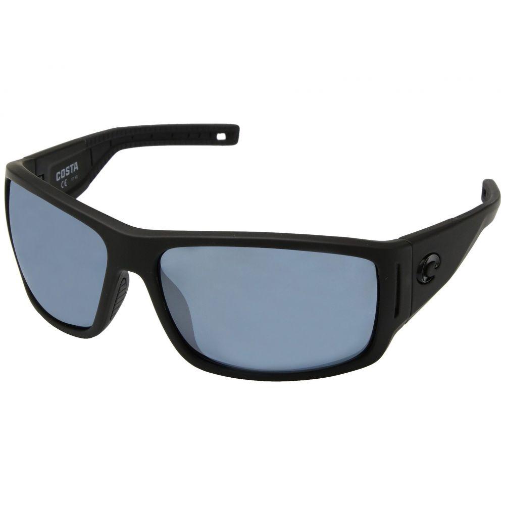 コスタ Costa メンズ メガネ・サングラス 【Cape】Matte Black Ultra Frame/Gray/Silver Mirror P