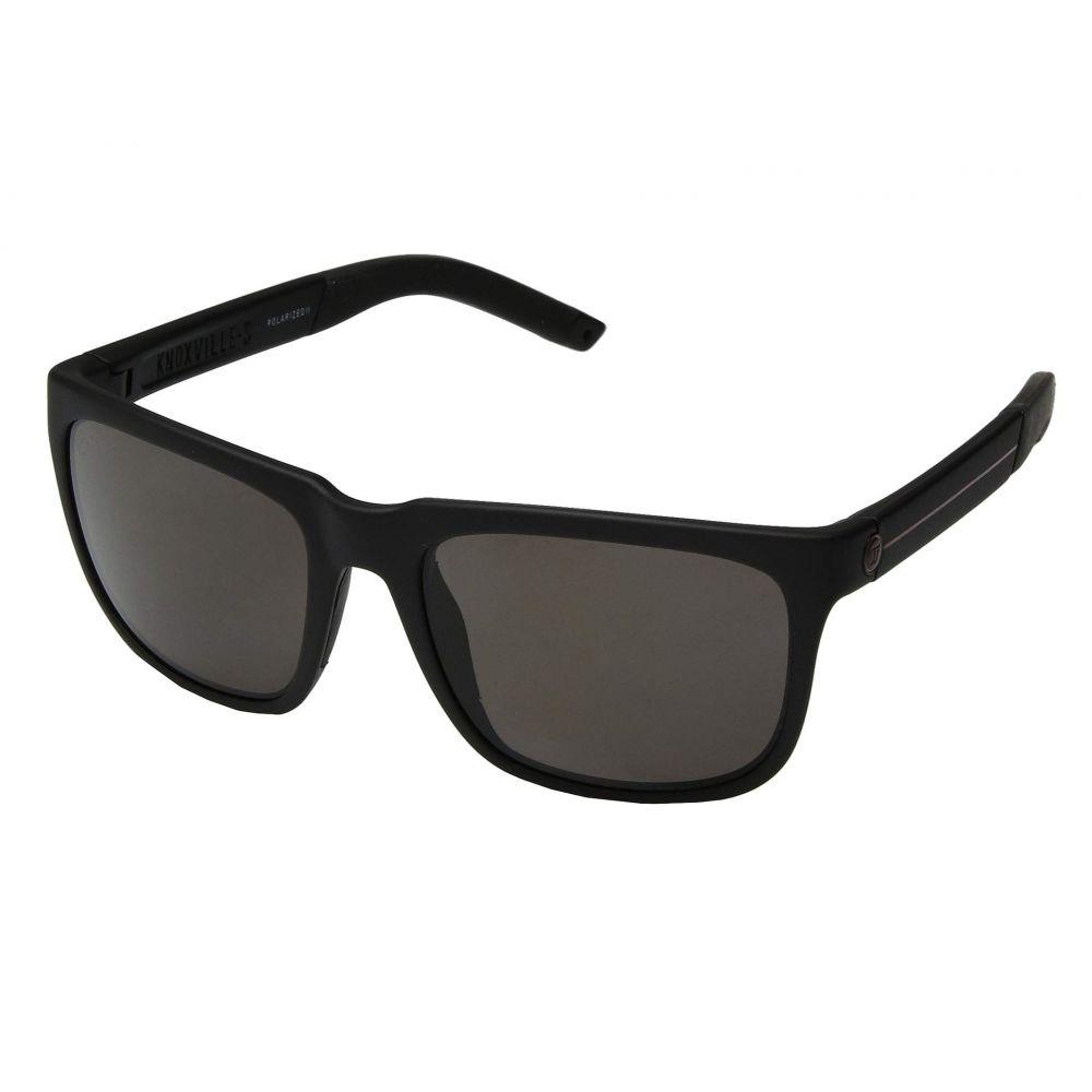 エレクトリック Electric Eyewear メンズ メガネ・サングラス 【Knoxville S JJF】Matte Black/OHM Polarized+Grey