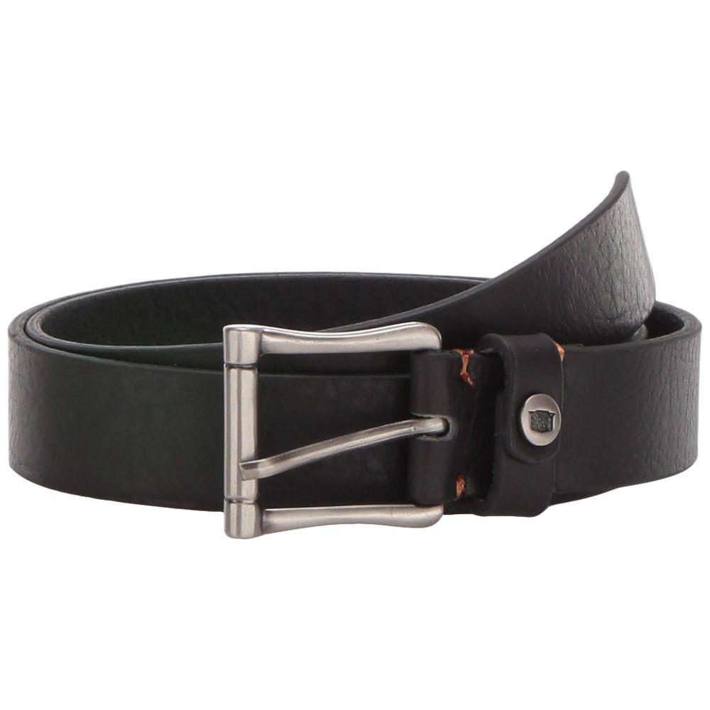 フローシャイム Florsheim メンズ ベルト 【Gilmore Saddle Leather Belt】Black