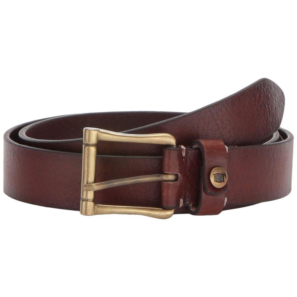 フローシャイム Florsheim メンズ ベルト 【Gilmore Saddle Leather Belt】Brown