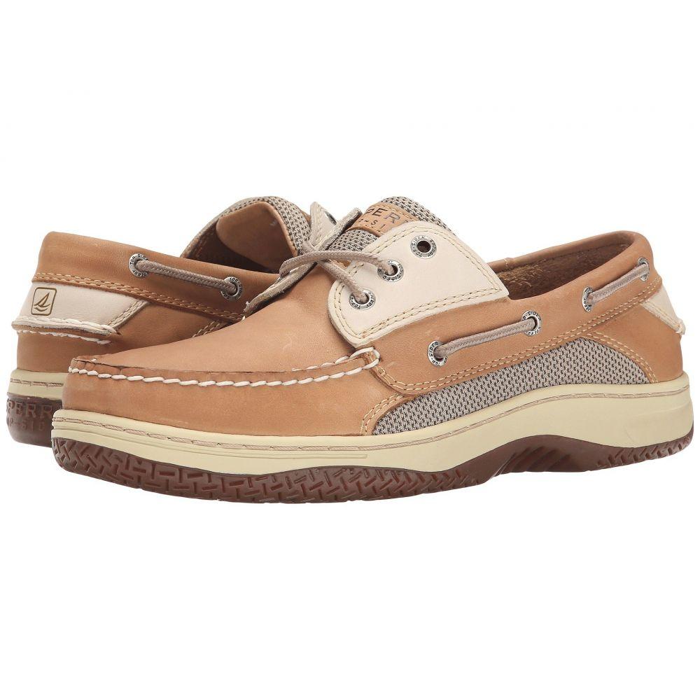 スペリー Sperry メンズ デッキシューズ デッキシューズ シューズ・靴【Billfish 3-Eye Boat Shoe】Tan/Beige